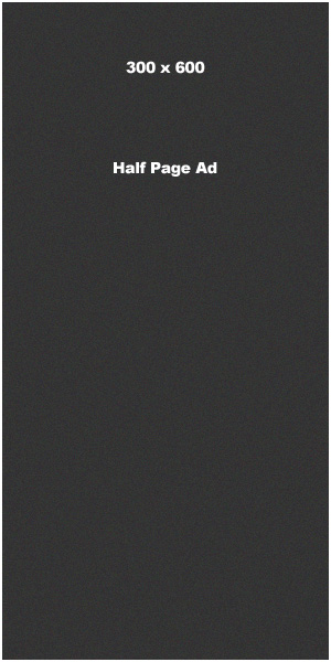 300 x 600 Half Page Ad Banner Ad