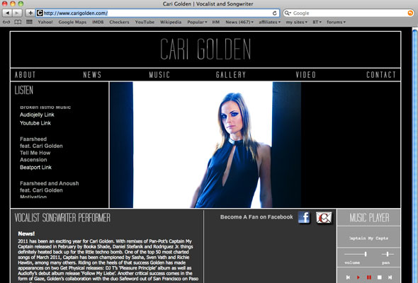 Cari Golden Portfolio Picture