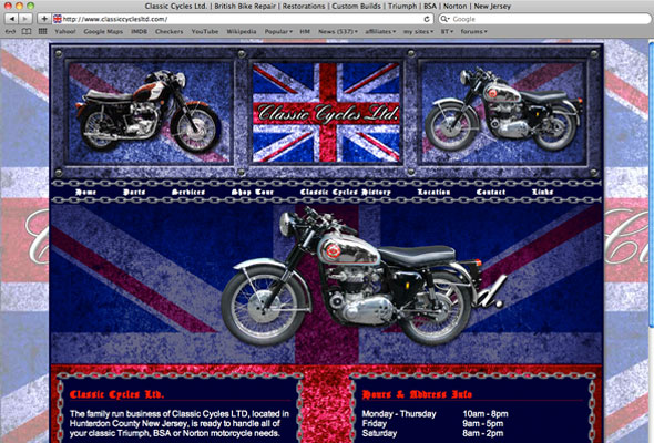Classic Cycles Ltd. Portfolio Picture