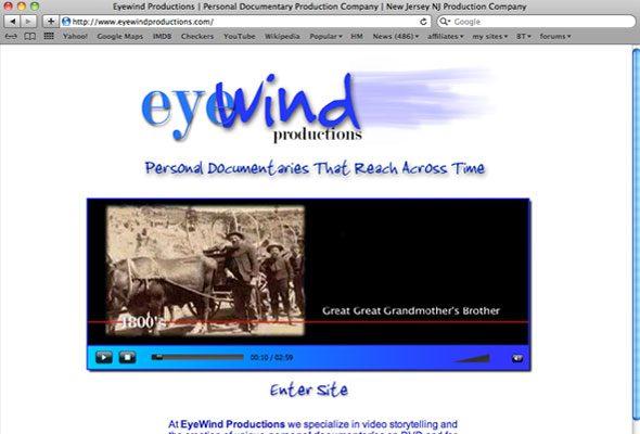 Eyewind Productions Portfolio Picture