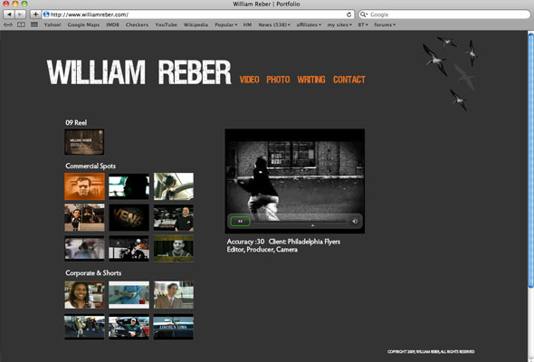 William Reber Portfolio Picture